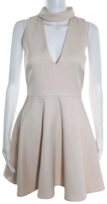Preload https://img-static.tradesy.com/item/23760770/cmeo-collective-beige-cmeo-pink-v-neck-cut-out-collared-a-xs-short-cocktail-dress-size-2-xs-0-1-650-650.jpg