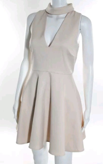 C/meo Collective Cut-out Night Out Evening V-neck Dress Image 1