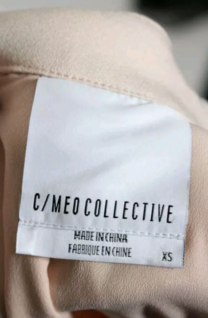 C/meo Collective Cut-out Night Out Evening V-neck Dress Image 3