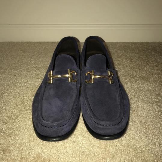 Salvatore Ferragamo Blue with gold buckle Formal Image 2