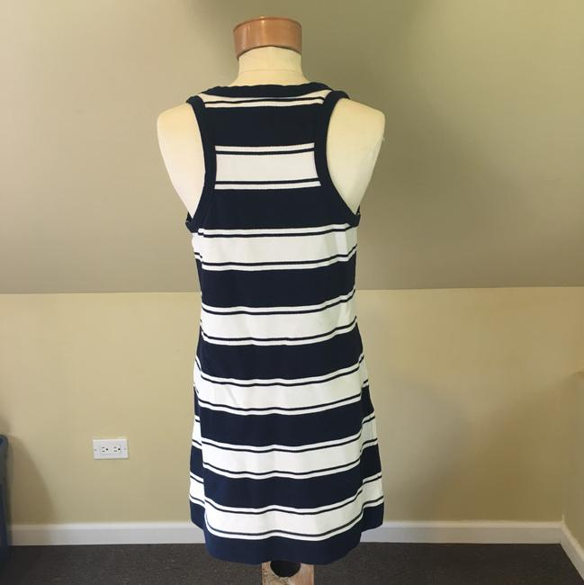 J.Crew short dress navy/white on Tradesy Image 3