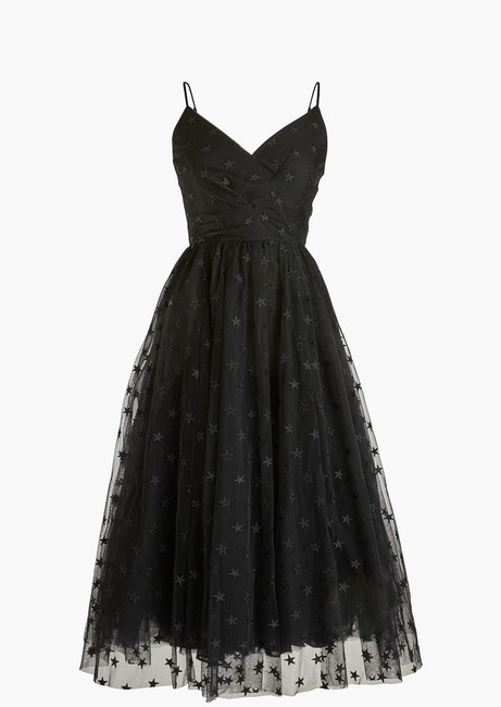 J.Crew Holiday Party Tulle Star Embroidered Dress Image 1