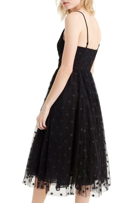 J.Crew Holiday Party Tulle Star Embroidered Dress Image 2