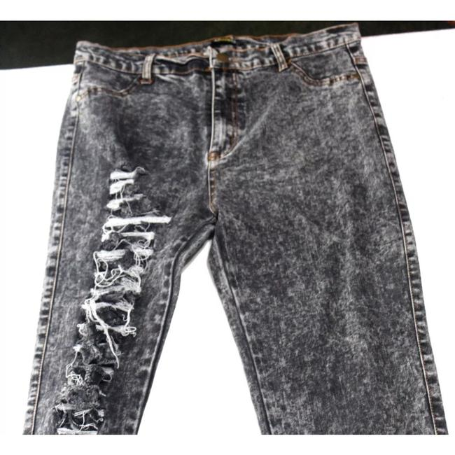 36 Points 5 Skinny Jeans-Distressed Image 1
