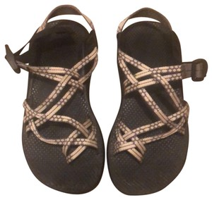 Chaco Gray/White Sandals