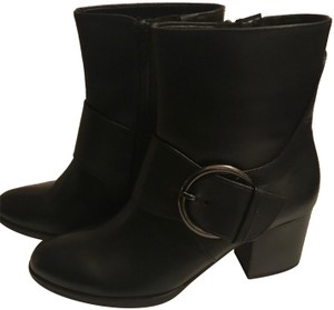 Gabor Leather New Black Boots