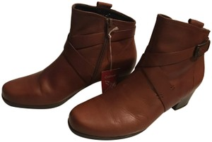 Gabor Leather Brown Boots