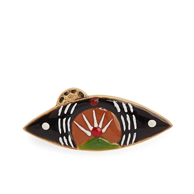 Item - Gold New Evil Eye Pin