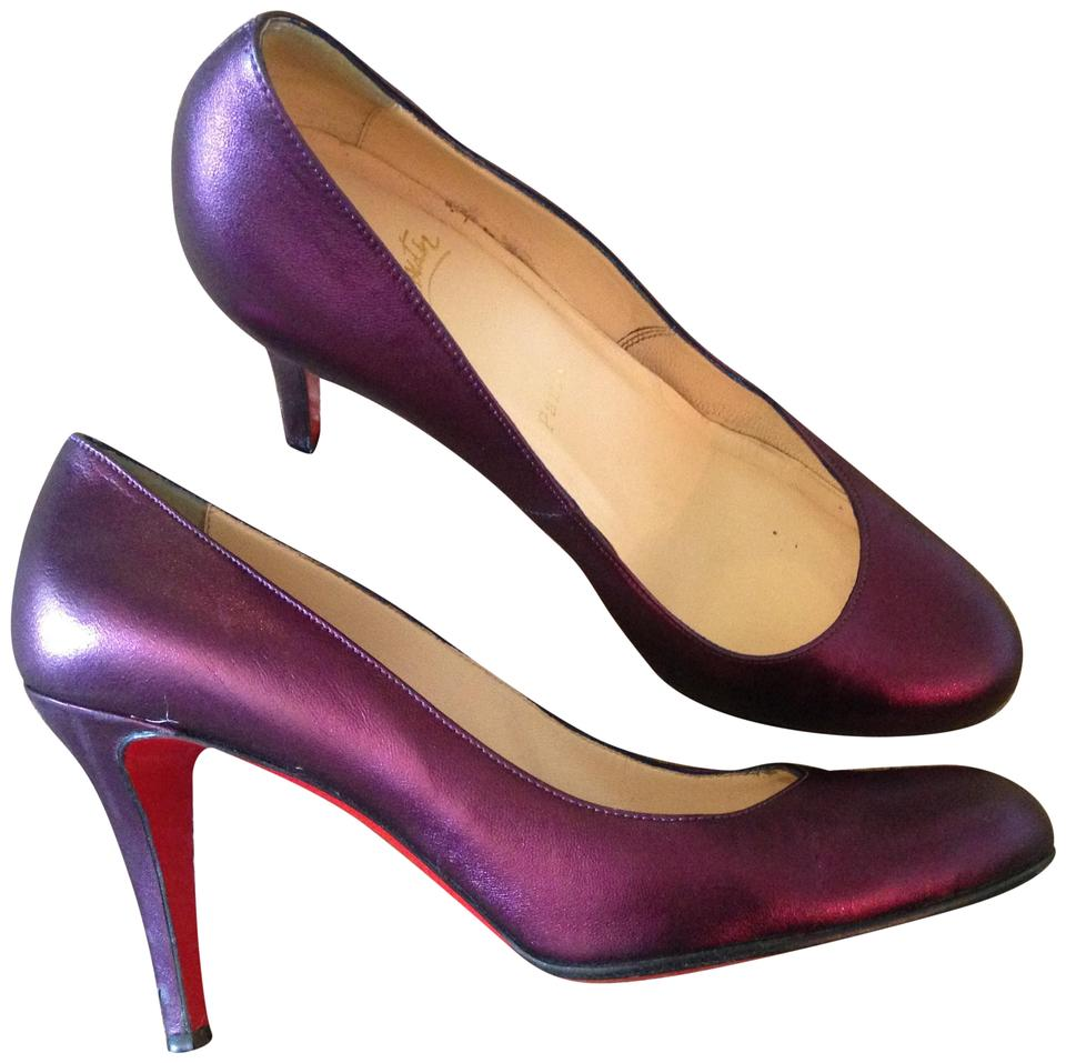 eeac370ddfe Purple Ron Ron Pumps