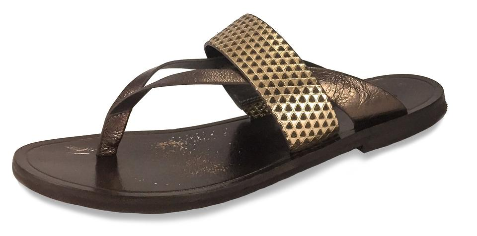 ff08bd3ead6 Vince Bronze Made In Italy Slip-on Gladiator Sandals Size US 7.5 ...