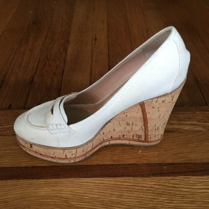 2d2112a4523d Chloé Made In Italy Fashionable Sporty Sporty Versatile Ivory White Wedges