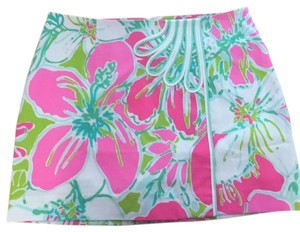 Lilly Pulitzer Mini Skirt Pink, Green, Mint
