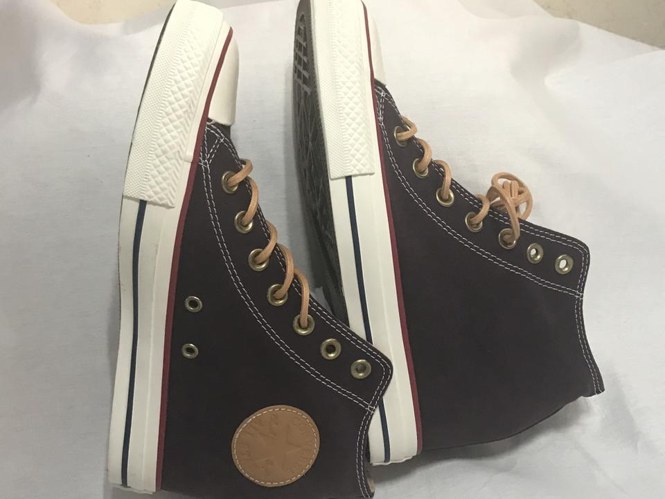 1bd14e0038f6 Converse Limited Edition New With Tags Hidden Platform Burgundy Athletic  Image 6. 1234567