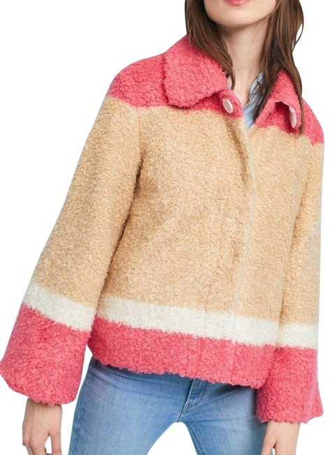 Item - Multi - Color New with Tag Colorblocked Sherpa Jacket Size 8 (M)