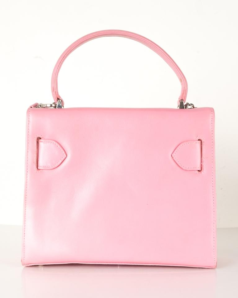 a28bfeb77b81 Versace Handle Pink Leather Shoulder Bag - Tradesy