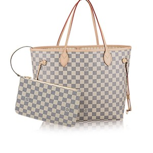 Louis Vuitton Monogram Leather Luxury European Limited Edition Tote in white