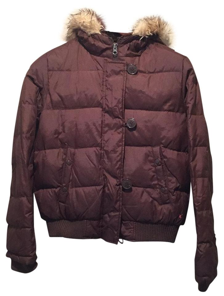 American Eagle Outfitters Brown Coat Size 8 (M) - Tradesy 39c836634