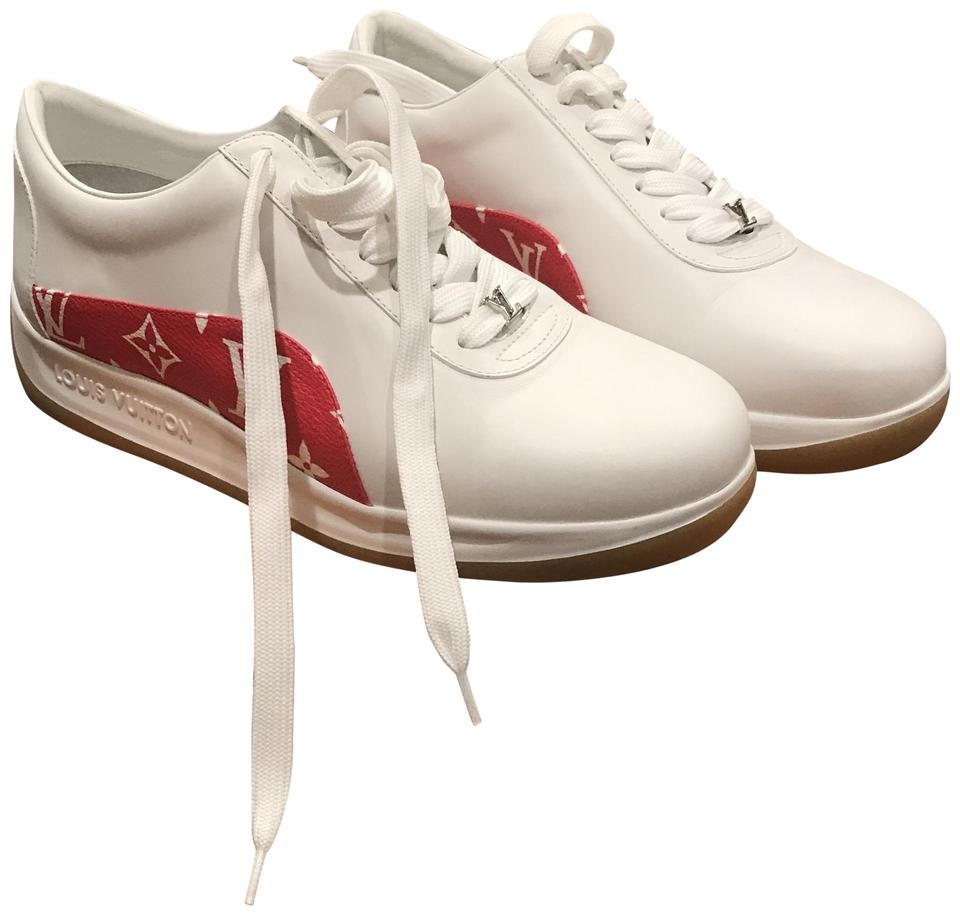 6764faa726f897 Louis Vuitton x Supreme White Sneakers Sneakers Size US 8 Regular (M ...