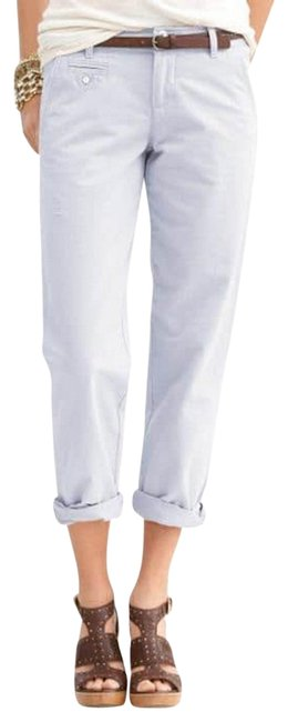 Item - White Boyfriend Pants Size 6 (S, 28)