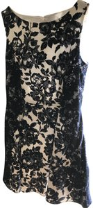Jessica Simpson Fit And Flare Boat Neck Floral Dress