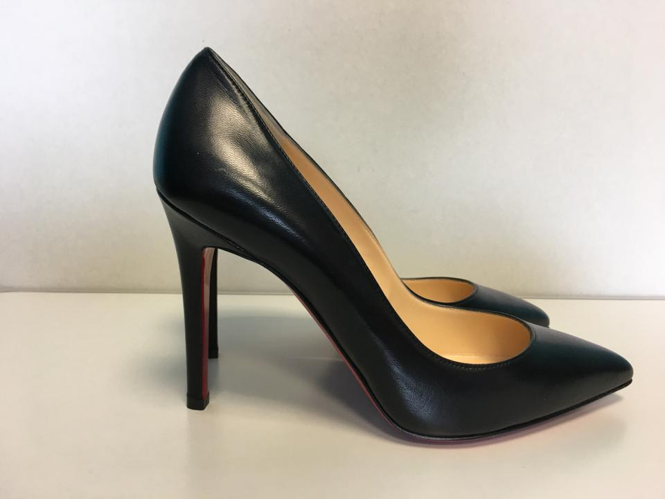 0b8d4a411f8 Christian Louboutin Black Classic Pigalle 100mm Nappa Shiny Leather  Point-toe Pumps Size EU 37 (Approx. US 7) Regular (M, B)