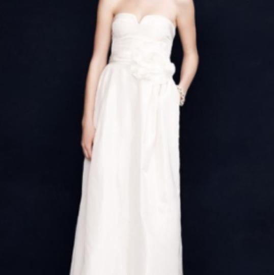 Silk Taffeta Wedding Gowns: J.Crew Ivory Silk Taffeta Sascha Gown Feminine Wedding