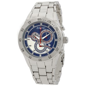 August Steiner August Steiner Silver-tone Metal Quartz Chronograph Mens Watch AS8083S