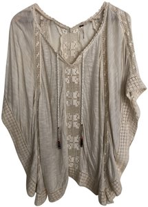 Free People Boho Bohemian Crochet Comfortable Casual Tunic