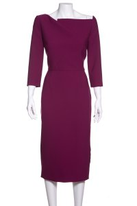 Roland Mouret short dress Cerise on Tradesy