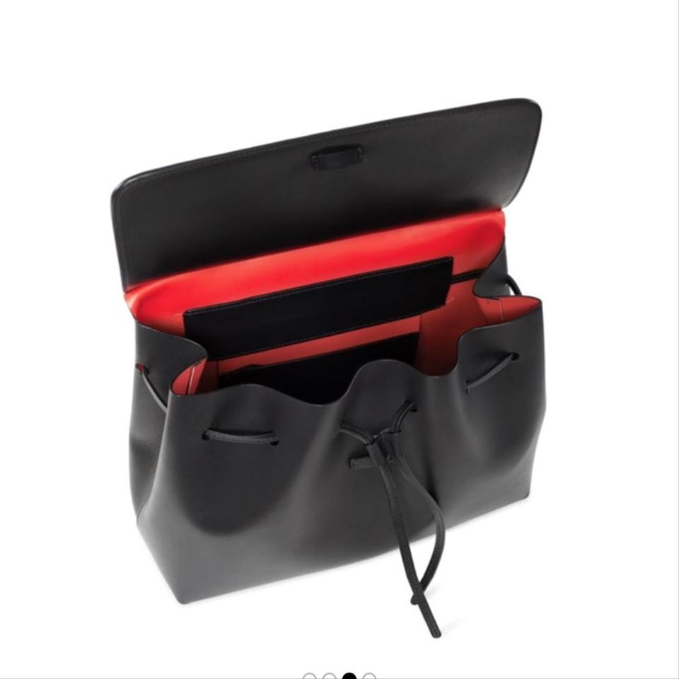 Satchel Red Gavriel Italian Lady Vegetable Interior Black Mansur Leather Tanned with dvIqq4
