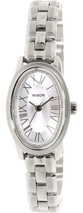 Nixon A165130 Women's Silver Steel Bracelet With Silver Analog Dial Watch