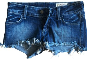 Siwy Cut Off Shorts Blue