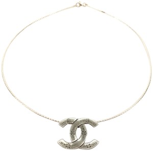 Chanel Chanel 05P Silver Pendant with Sterling silver Chain