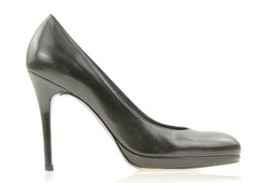 Stuart Weitzman Sw 9.5 W Kate Middlton Platform Swoon Black Pumps