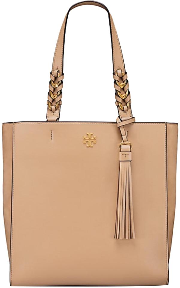 a0ce09071f652 Tory Burch Brooke Leather Tote - Tradesy