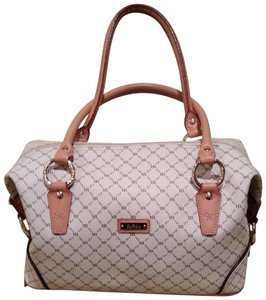 Roni Rabl Satchel in Tan and Beige Pattern