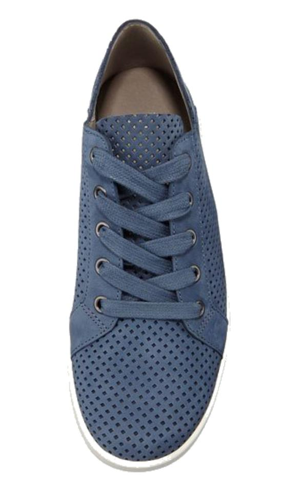 Eileen Sneakers Sneakers Leather Lace Fisher up Blue 8rwqx8A1B