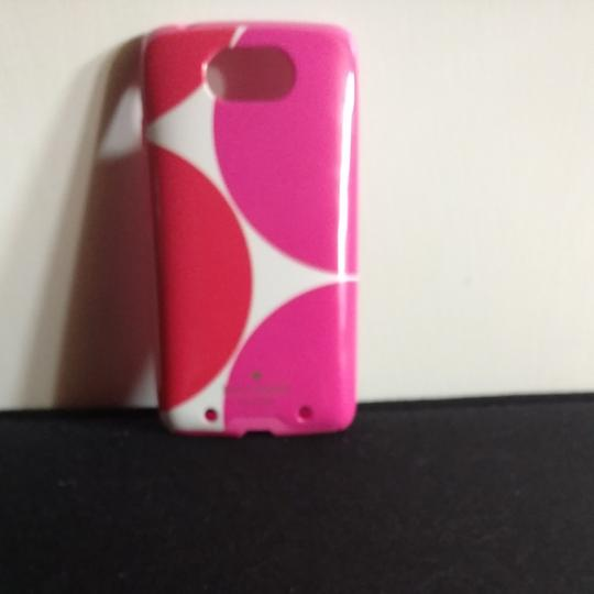 Preload https://img-static.tradesy.com/item/23766390/kate-spade-pink-orange-and-white-polka-dots-very-cute-phone-cover-tech-accessory-0-0-540-540.jpg
