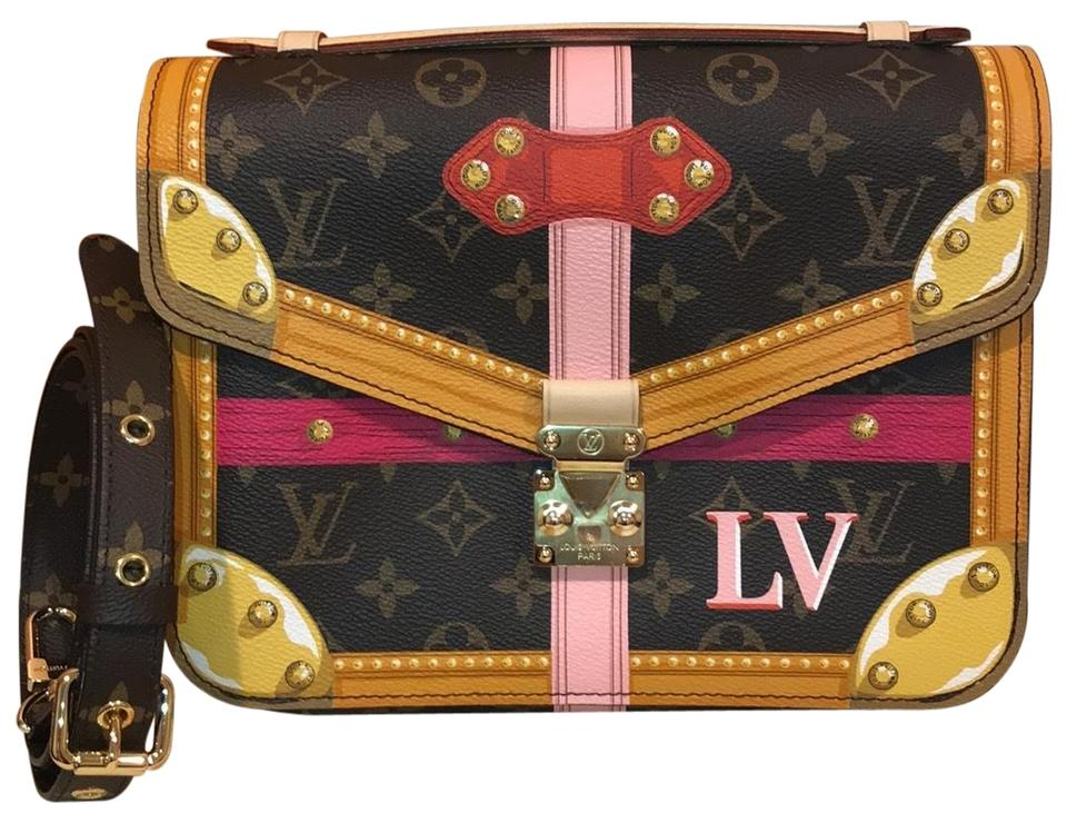 bec3b64f706 Louis Vuitton Pochette Metis Summer Trunks 2018 Monogram Canvas Cross Body  Bag