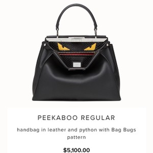 5d5019db8a4f Fendi Peekaboo Monster Bags - Up to 70% off at Tradesy