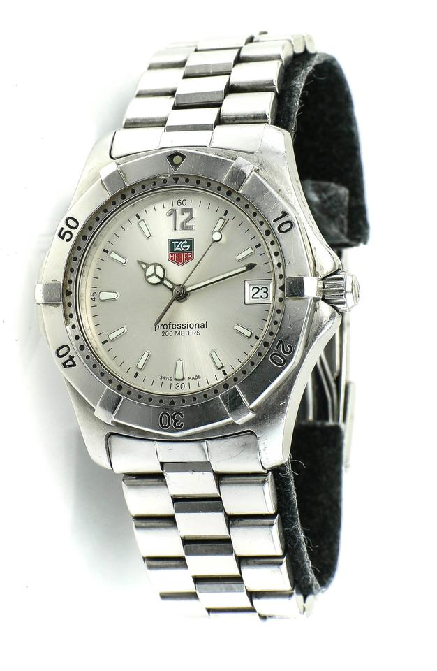 901692abb7c TAG Heuer * Stainless Steel Wk1112 Professional Diver's Watch - Tradesy
