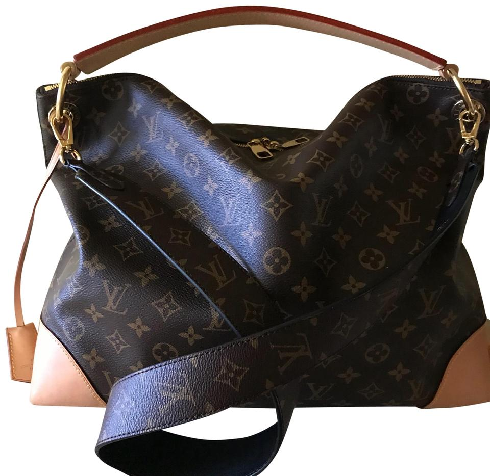 a3443d93911bf Louis Vuitton Berri Mm Monogram Crossbody Shoulder  Hobo Bag - Tradesy