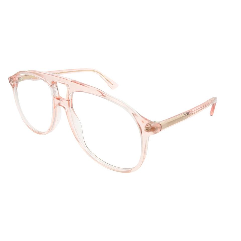 Gucci Pink New 0264o Aviator Frames Sunglasses - Tradesy