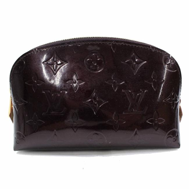 Louis Vuitton Bordeaux Pouch Amarante Monogram Vernis 867270 Cosmetic Bag Louis Vuitton Bordeaux Pouch Amarante Monogram Vernis 867270 Cosmetic Bag Image 1