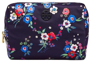 Tory Burch TORY BURCH NEW FLORAL COSMETIC MAKEUP CASE BAG NWT