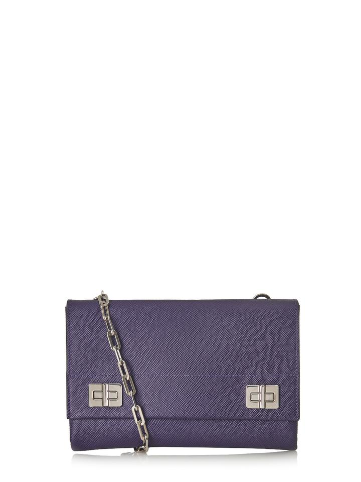 f030ad625a Prada   52008 Violet Leather Shoulder Bag - Tradesy