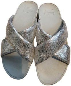 FitFlop Silver metallic Sandals