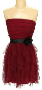 DEB A-line Layered Ruched Party Dress