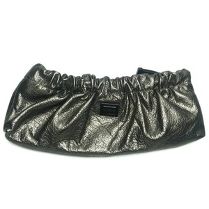 Burberry Metallic Evening silver Clutch