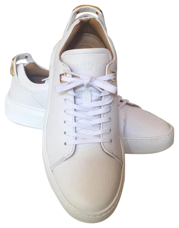 Out Box Low New Sold Uno 5 Alce Sneakers In 39 Buscemi White Sneakers wpEPqP